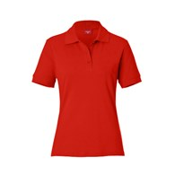 BASIC POLO LADIES RED 46