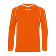 FOOTB. JERSEY LS STRIKER ORANGE/WHITE XXXL