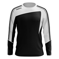 SWEATER FORZA ZWART/WIT  116